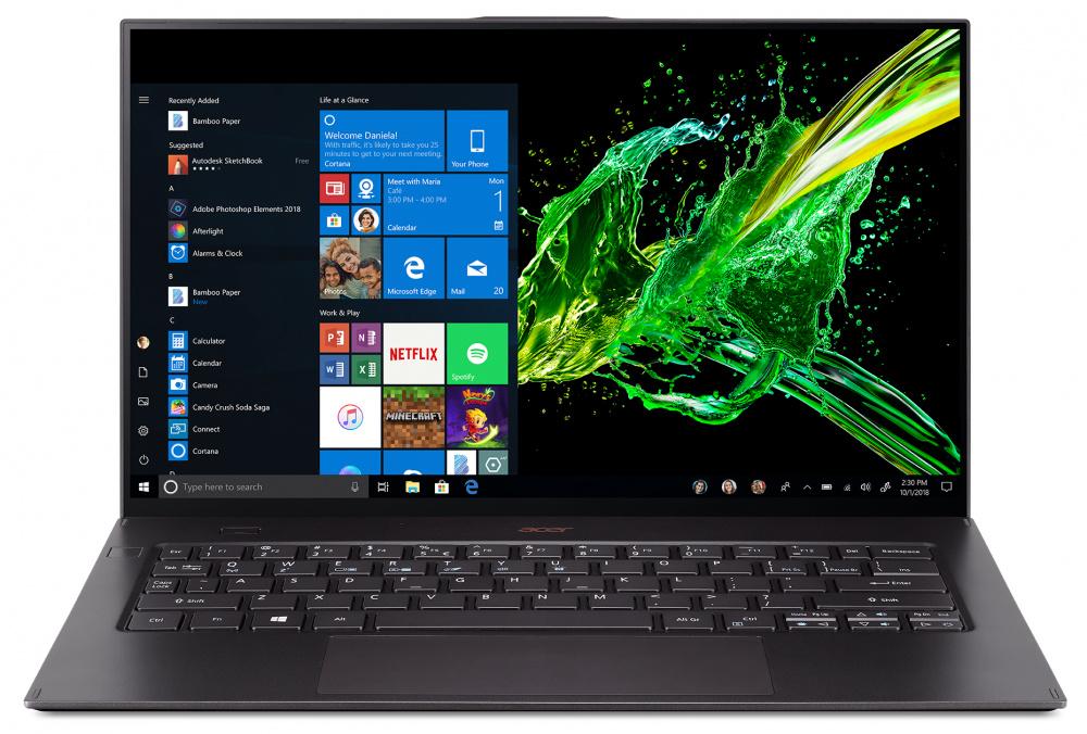 "Ультрабук Acer Swift 7 SF714-52T-78V2 i7 8500Y/16Gb/SSD512Gb/615/14""/IPS/Touch/FHD (плохая упаковка)"