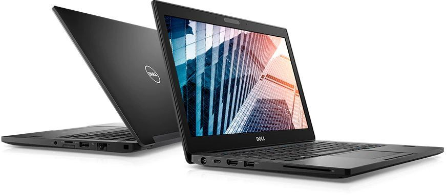 "Ноутбук Dell Latitude 7290 i5 8250U/8Gb/SSD256Gb/620/12.5""/HD/Lin/black (плохая упаковка)"