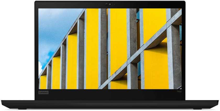 "Ноутбук Lenovo ThinkPad T490 Core i5 8265U/8Gb/SSD256Gb/Intel UHD Graphics 620/14""/IPS/WQHD (2560x1440)/Windows 10 Professional 64/black/WiFi/BT/Cam"