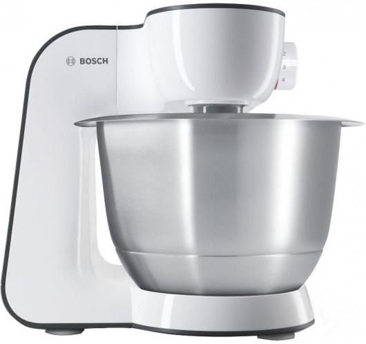 Кухонная машина Bosch MUM50131 планетар.вращ. 800Вт белый/черный
