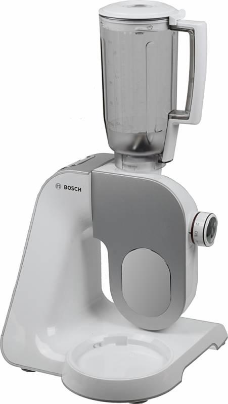 Кухонная машина Bosch MUM58243 планетар.вращ. 1000Вт серый/белый