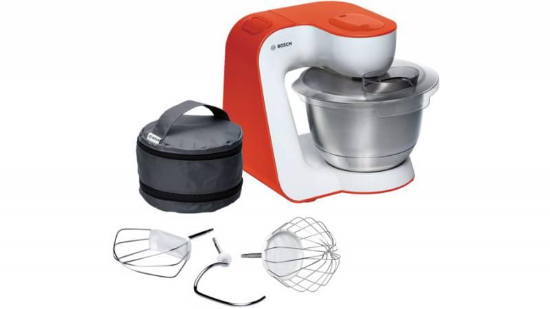 Кухонный комбайн Bosch MUM54I00 900Вт белый/оранжевый