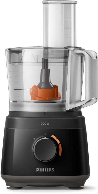Кухонный комбайн Philips HR7320 700Вт черный