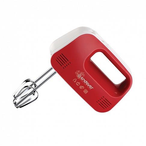 Миксер ручной Endever Sigma 04 250Вт белый/красный (плохая упаковка)