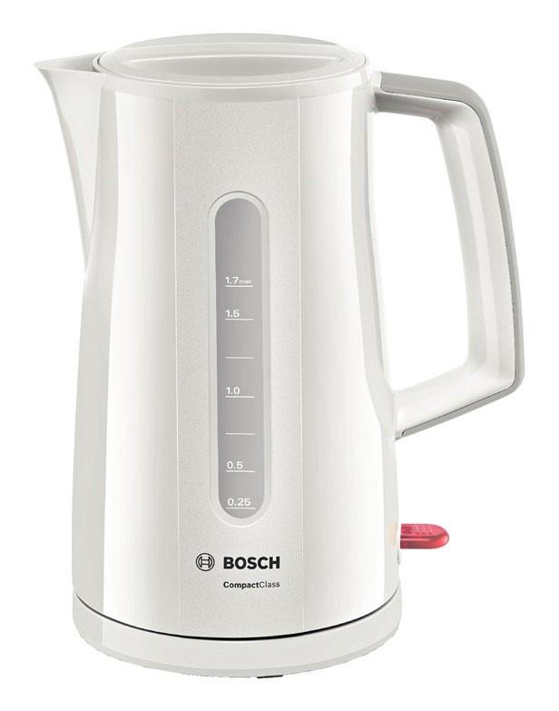 Чайник электрический Bosch TWK3A011 1.7л. 2400Вт белый (корпус: пластик)