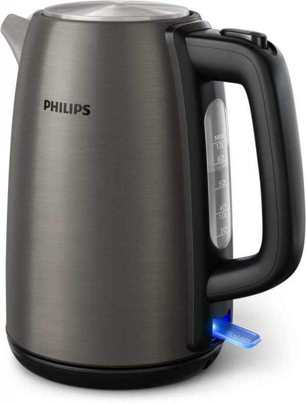 Чайник электрический Philips HD9352/80 1.7л. 2200Вт серебристый (корпус: нержавеющая сталь)