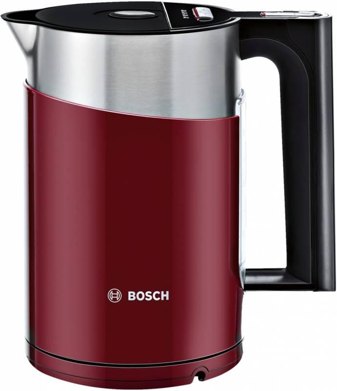 Чайник электрический Bosch TWK861P4RU 1.5л. 2400Вт красный (корпус: пластик)