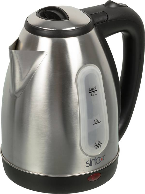 Чайник электрический Sinbo SK 7362 1.8л. 2200Вт серебристый (корпус: нержавеющая сталь/пластик)