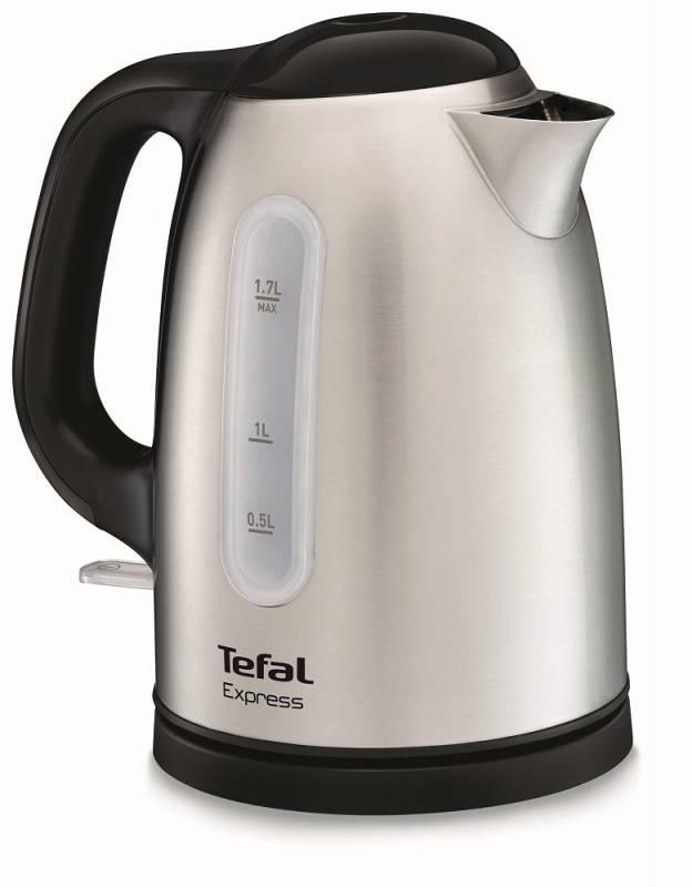 Чайник электрический Tefal KI230D30 1.7л. 2400Вт серебристый (корпус: металл)