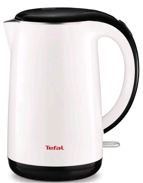 Чайник электрический Tefal KO260130 1.7л. 2150Вт белый/черный (корпус: пластик)