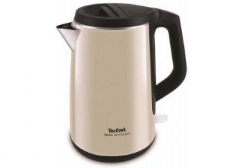 Чайник электрический Tefal KO371 I30 Safe to touch 1.5л. 2200Вт бежевый/черный (корпус: металл)