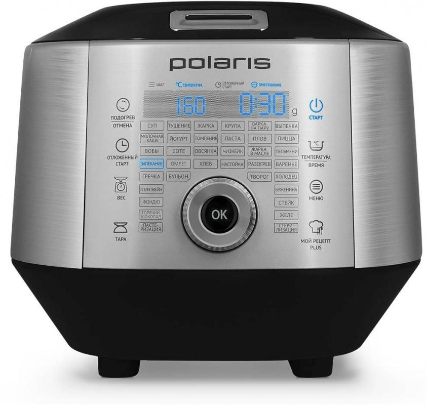 Мультиварка Polaris EVO 0445DS 4л 850Вт серебристый