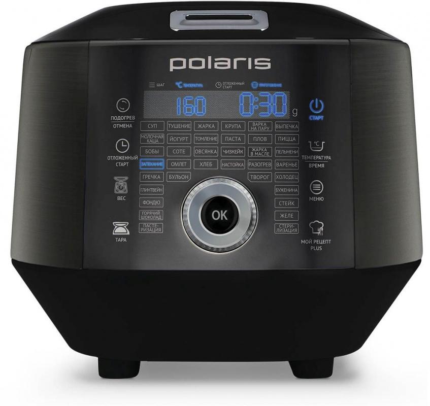 Мультиварка Polaris EVO 0446DS 4л 850Вт графит