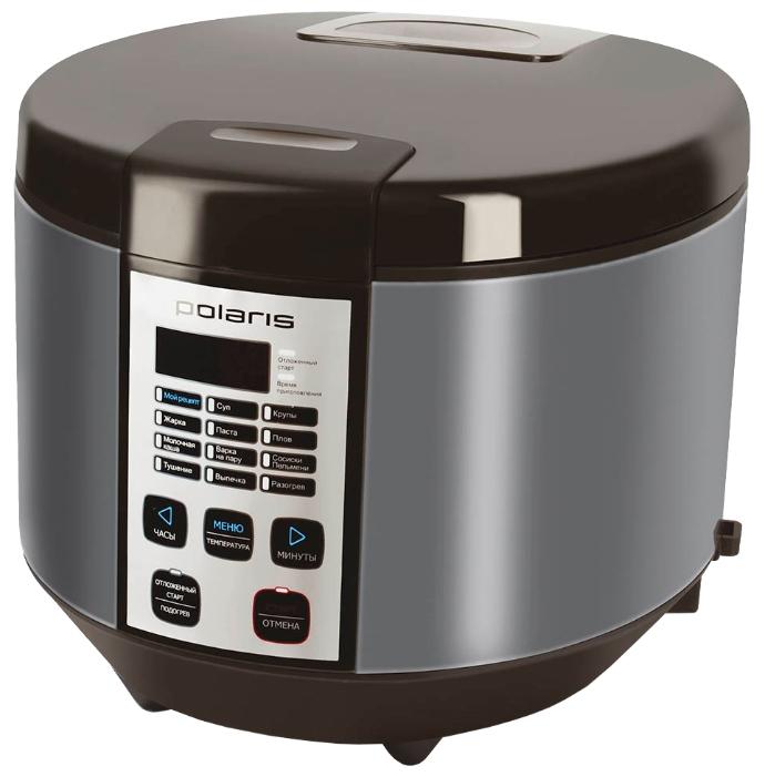 Мультиварка Polaris PMC 0558AD 5л 700Вт кофе