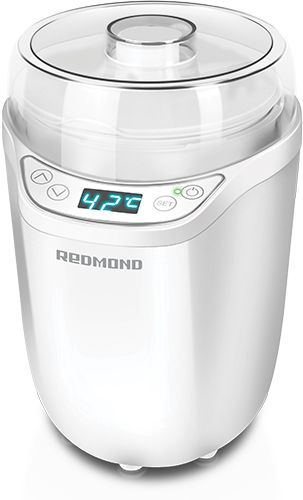 Йогуртница Redmond RYM-5402 25Вт 1б. 1800мл упр.:электрон. белый
