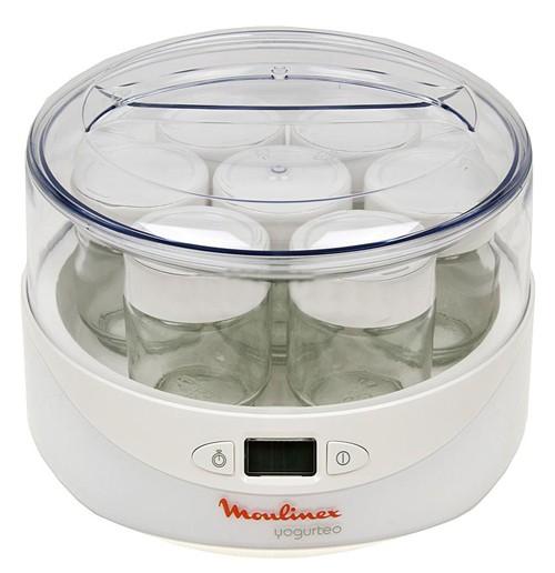 Йогуртница Moulinex YG230131 13Вт 7б. 140мл упр.:электрон. белый