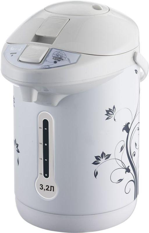 Термопот Великие реки Чая-3 3.2л. 750Вт белый (плохая упаковка)