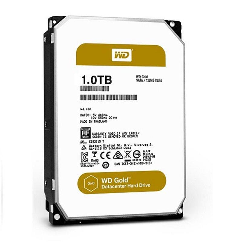 "Жесткий диск WD Original SATA-III 1Tb WD1005FBYZ Gold (7200rpm) 128Mb 3.5"""