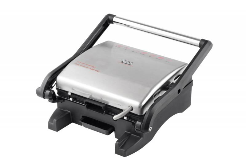 Электрогриль GFGril GF-130 Plate Free серебристый/черный 1800Вт (плохая упаковка)