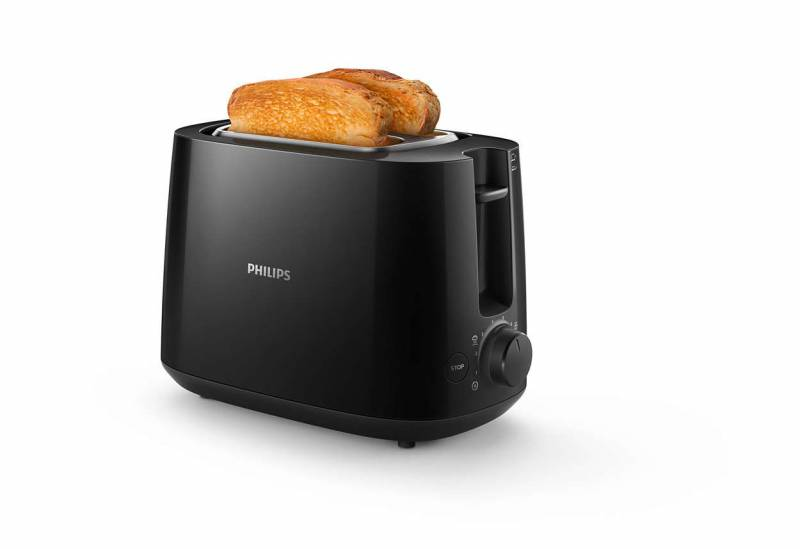 Тостер Philips HD2581/90 830Вт черный