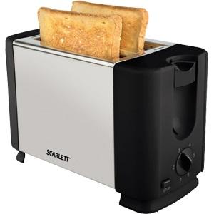 Тостер Scarlett SC-TM11012 700Вт серебристый/черный