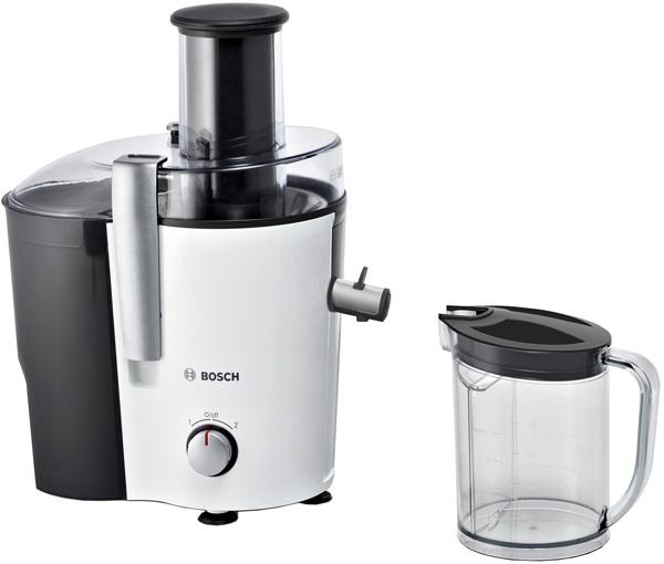 Соковыжималка центробежная Bosch VitaJuice MES25A0 700Вт рез.сок.:1250мл. белый/черный
