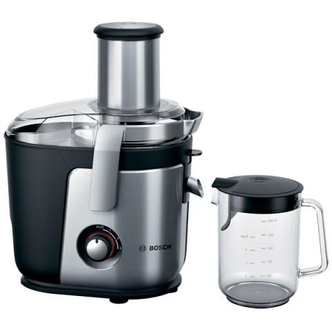 Соковыжималка центробежная Bosch MES4010 1200Вт рез.сок.:1500мл. серебристый/черный