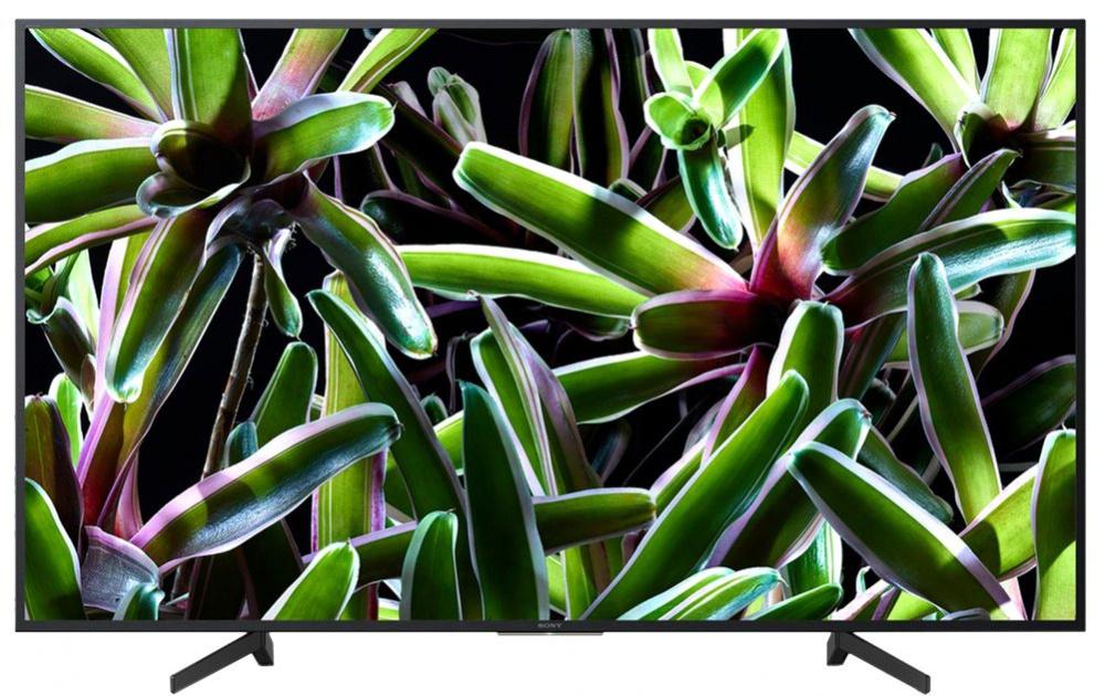 "Телевизор LED Sony 43"" KD43XG7005BR BRAVIA черный/Ultra HD/50Hz/DVB-T/DVB-T2/DVB-C/DVB-S/DVB-S2/USB/WiFi/Smart TV"
