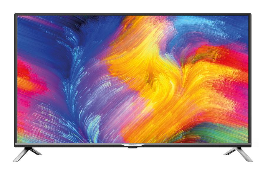 """Телевизор LED Hyundai 40"""" H-LED40ET3001 черный/серебристый/FULL HD/60Hz/DVB-T2/DVB-C/DVB-S2/USB (RUS)"""