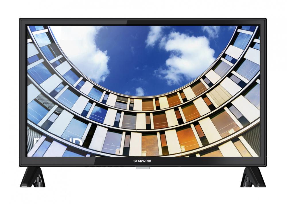 "Телевизор LED Starwind 24"" SW-LED24BA201 черный/HD READY/60Hz/DVB-T/DVB-T2/DVB-C/USB (RUS)"