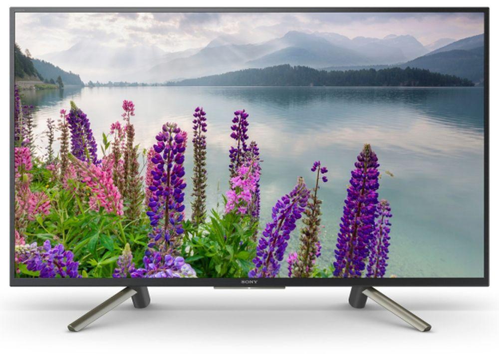 """Телевизор LED Sony 43"""" KDL43WF804BR BRAVIA черный/серебристый/FULL HD/50Hz/DVB-T/DVB-T2/DVB-C/DVB-S/DVB-S2/USB/WiFi/Smart TV (RUS)"""