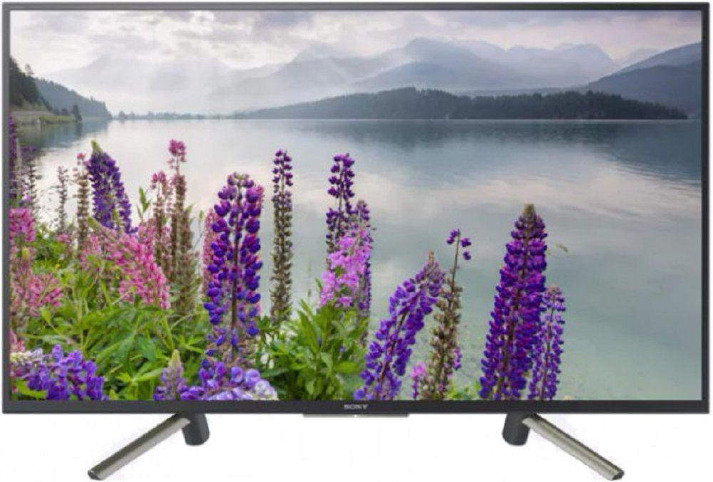 """Телевизор LED Sony 49"""" KDL49WF804BR BRAVIA черный/серебристый/FULL HD/50Hz/DVB-T/DVB-T2/DVB-C/DVB-S/DVB-S2/USB/WiFi/Smart TV (RUS)"""