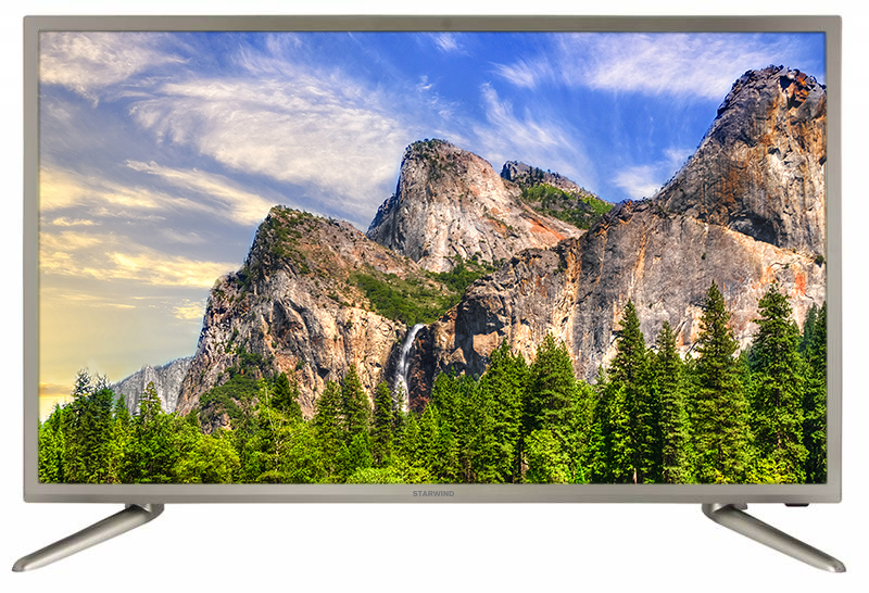 """Телевизор LED Starwind 31.5"""" SW-LED32R301ST2 серебристый/HD READY/60Hz/DVB-T/DVB-T2/DVB-C/USB (RUS)"""
