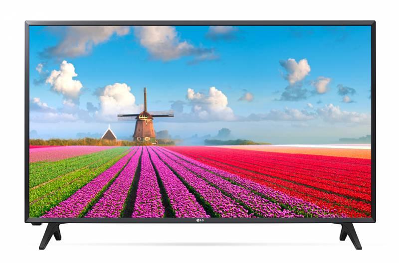 """Телевизор LED LG 32"""" 32LJ500V черный/FULL HD/50Hz/DVB-T2/DVB-C/DVB-S2/USB (RUS)"""
