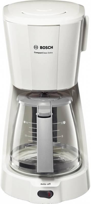 Кофеварка капельная Bosch TKA3A031 1100Вт белый