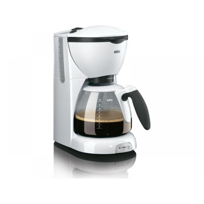 Кофеварка капельная Braun KF520/1 1100Вт белый (плохая упаковка)