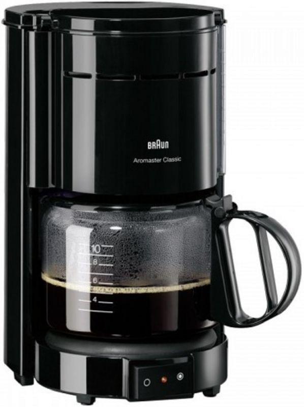 Кофеварка капельная Braun KF47/1 1000Вт черный