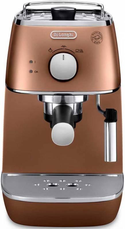 Кофеварка эспрессо Delonghi ECI341CP 1100Вт медный (плохая упаковка)