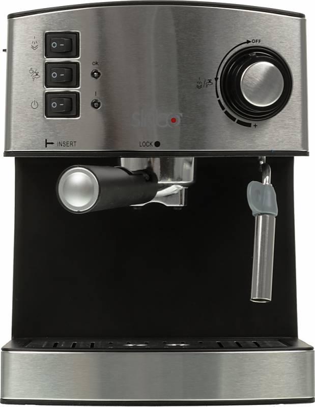 Кофеварка эспрессо Sinbo SCM 2944 850Вт черный (плохая упаковка)