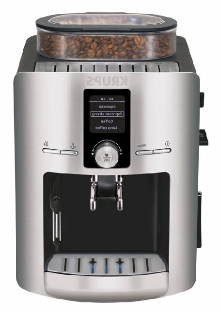 Кофемашина Krups Espresseria EA826E30 1450Вт серебристый