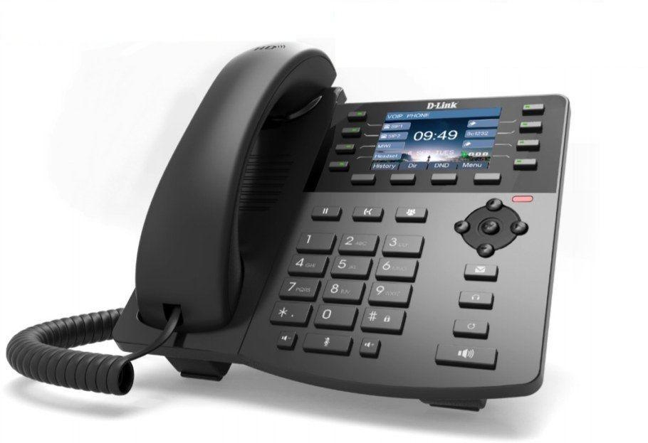 Телефон IP D-Link DPH-150SE/F5 черный
