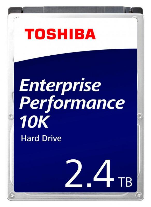 "Жесткий диск Toshiba SAS 3.0 2400Gb AL15SEB24EQ (10500rpm) 128Mb 2.5"""