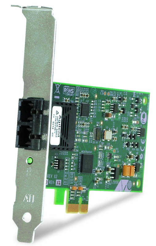 Сетевой адаптер Ethernet Allied Telesis AT-2711FX/SC AT-2711FX/SC-001 PCI Express