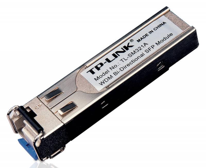 Модуль SFP TP-Link TL-SM321A 1000Base-BX WDM SFP LC TX:1550nm RX:1310nm 10km
