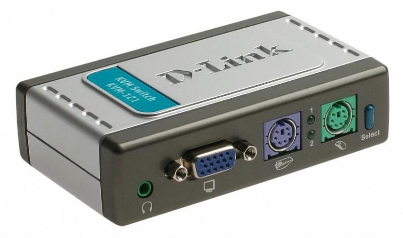 Переключатель D-Link KVM-121 (KVM-121/B1A)