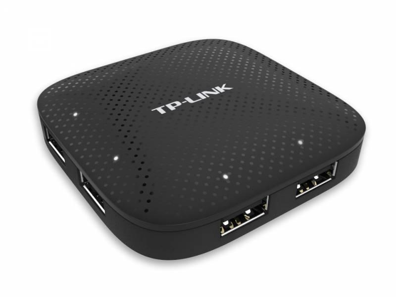 Разветвитель USB 3.0 TP-Link UH400 4порт. черный