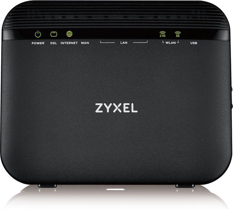 Роутер беспроводной Zyxel VMG3625-T20A (VMG3625-T20A-EU01V1F) AC1200 ADSL2+/VDSL2 черный