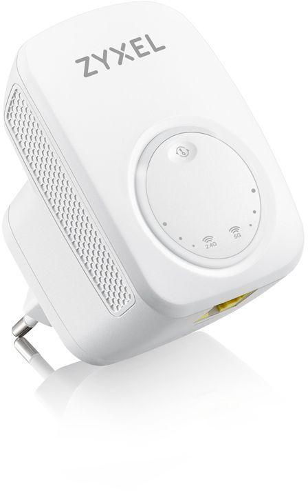 Повторитель беспроводного сигнала Zyxel WRE6505V2 (WRE6505V2-EU0101F) AC750 Wi-Fi белый