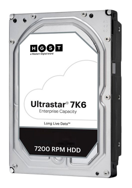 "Жесткий диск WD Original SAS 3.0 4Tb 0B36048 HUS726T4TAL5204 Ultrastar DC HC310 (7200rpm) 256Mb 3.5"""