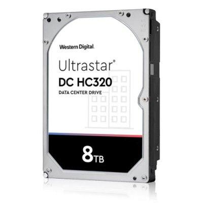 Жесткий диск WD Original SAS 3.0 8Tb 0B36400 HUS728T8TAL5204 Ultrastar DC HC320 (7 (плохая упаковка)